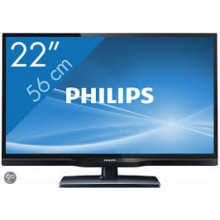 PHILIPS LCD TELEVISIE 56 CM (ex-rental)