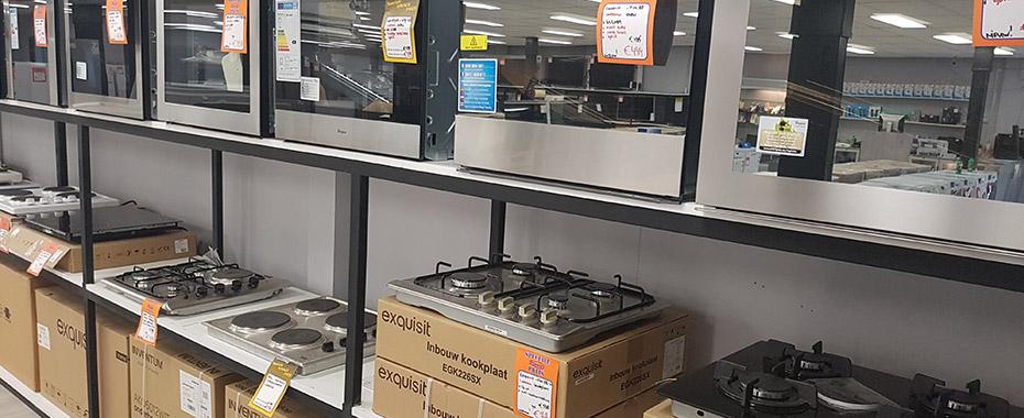Elektronica outlet met topmerken in Roosendaal Rimaco